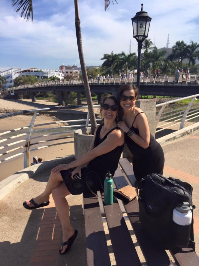 Angela and I in Puerta Vallarta